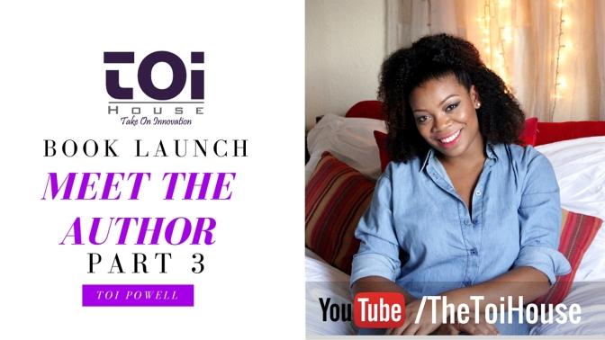 Meet The Author: Part 3